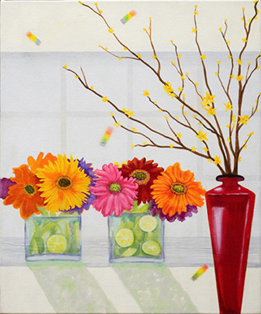 gerbera-daisies-glass24_x22_mixed-mediafaaf